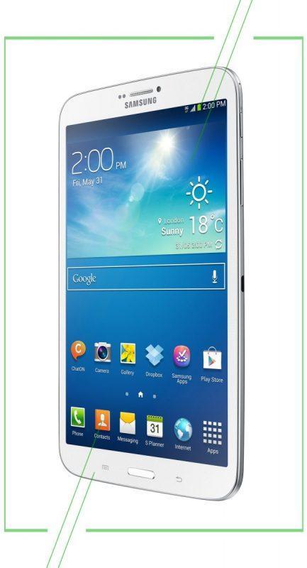 Samsung Galaxy Tab 3.8.0_result