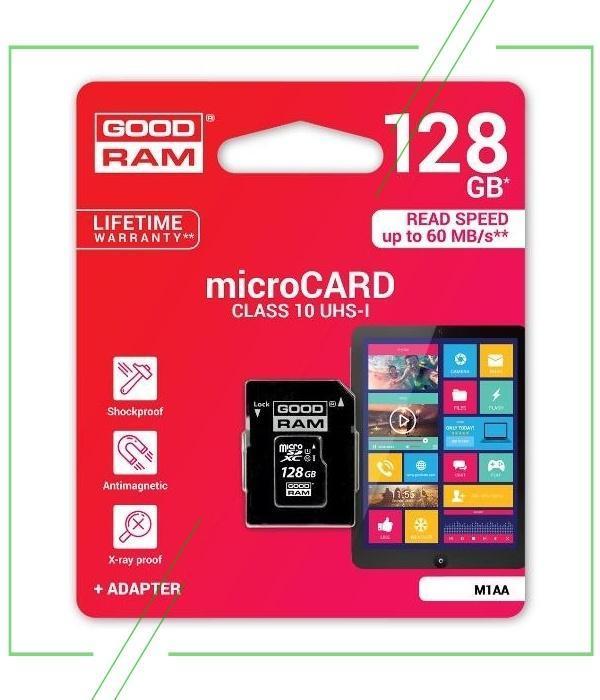 GoodRam microSDXC 128 Гб_result