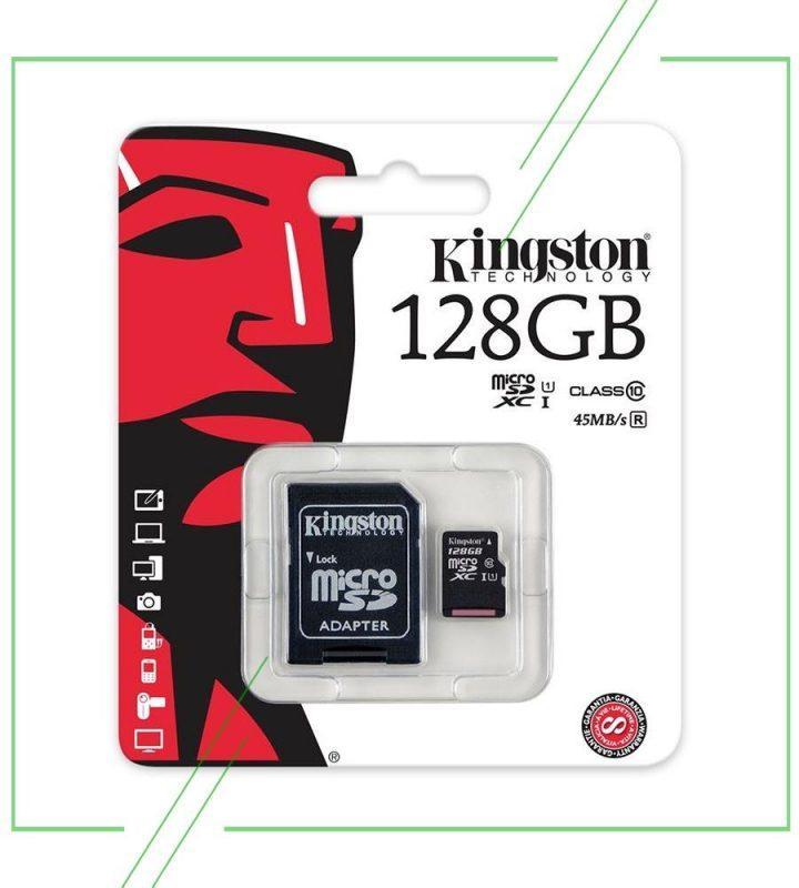 KingSton SD CR 128GB_result