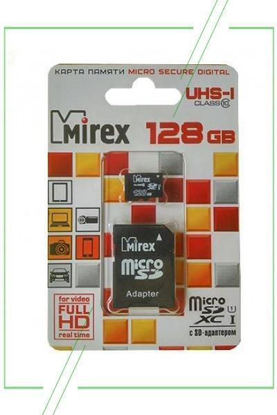 Mirex microSDXC 128 Гб_result