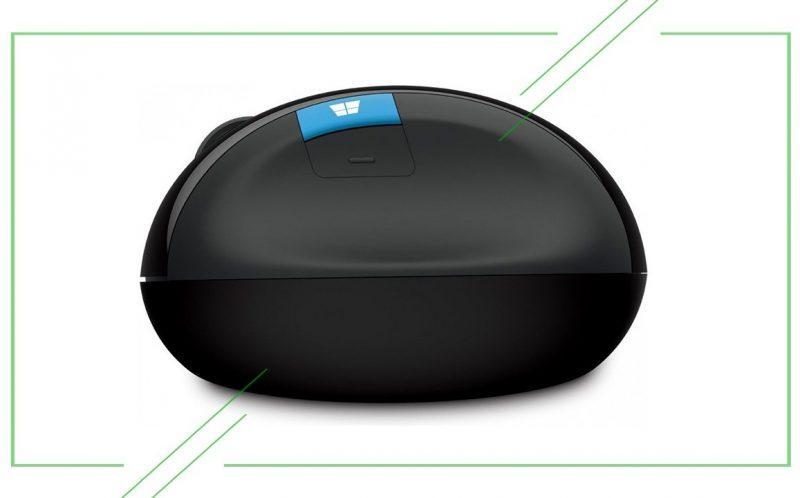 Microsoft Sculpt Ergonomic Mouse L6V-00005 Black