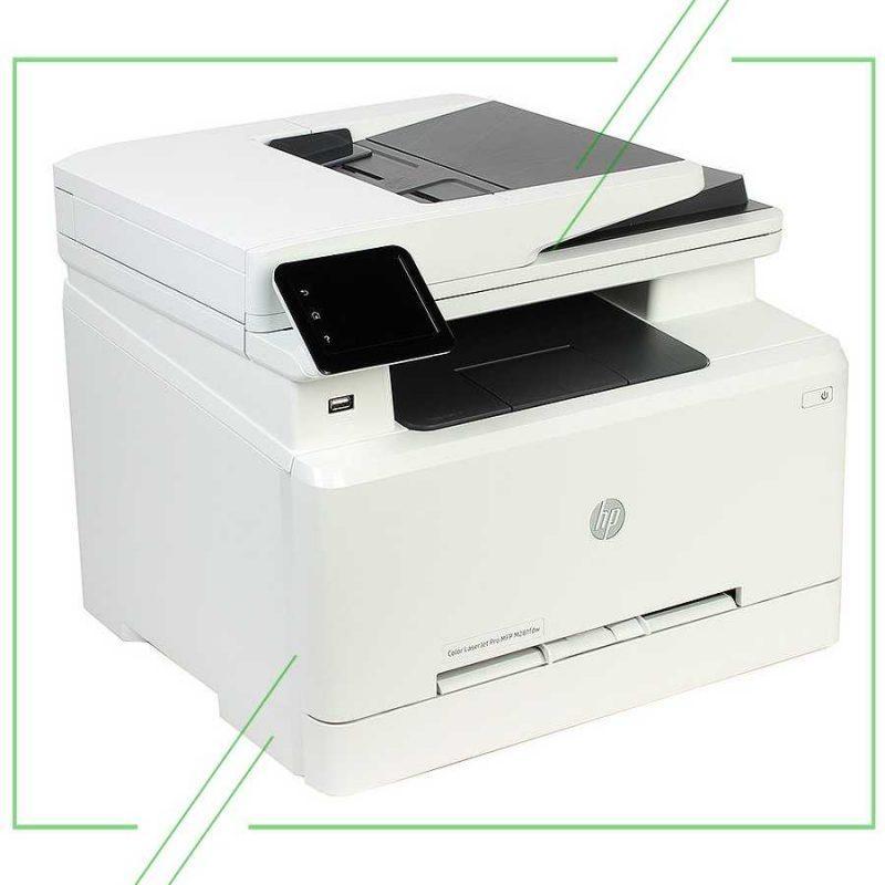 HP Color LaserJet Pro M281fdw_result