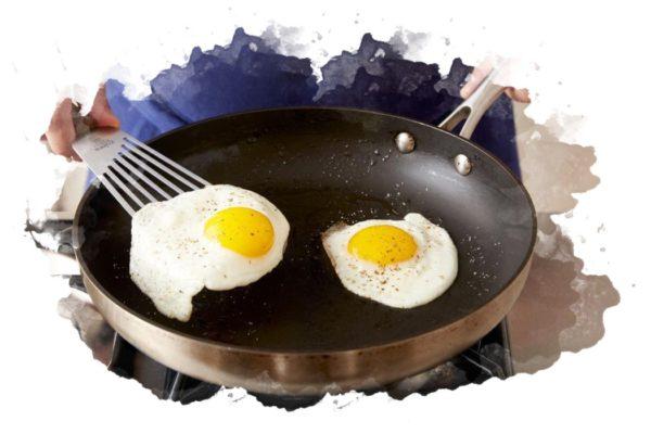 ТОП-7 лучших антипригарных сковородок: как чистить, плюсы и минусы, отзывы, цена