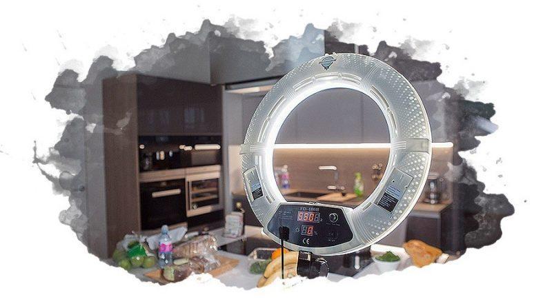 ТОП-5 лучших кольцевых ламп: для визажиста, для фотосъемки, отзывы, цена