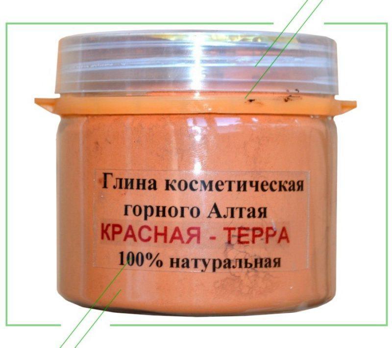 Алтайская красная глина R-Cosmetics_result