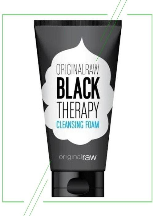 Black Therapy Cleansing Foam_result