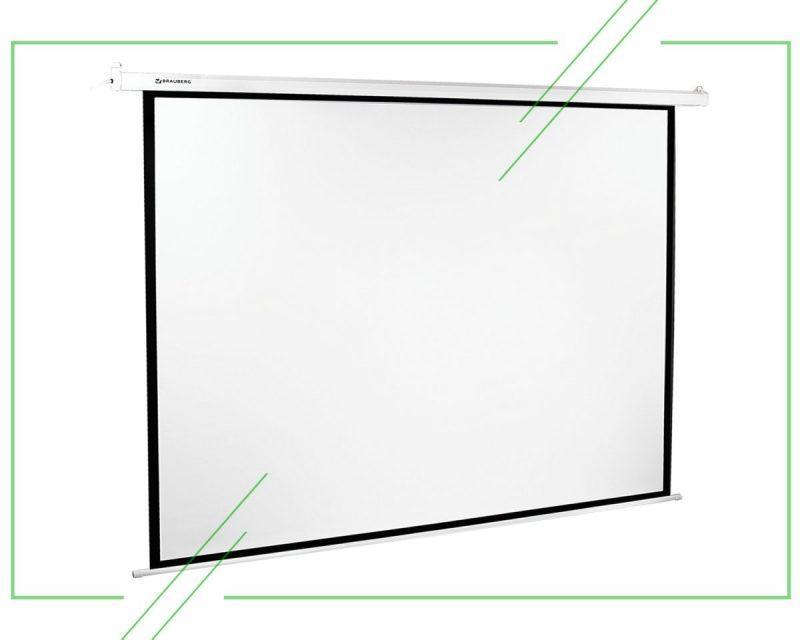 ТОП-7 лучших экранов для проектора: как выбрать, отзывы