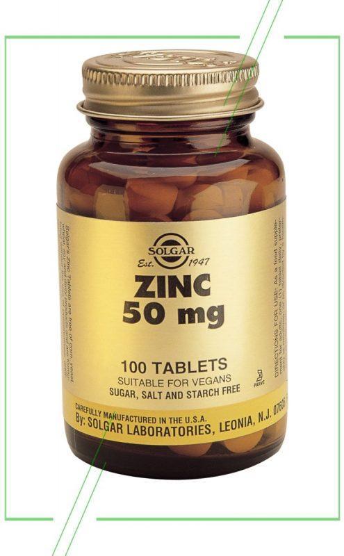 Цинк 50 мг Solgar_result