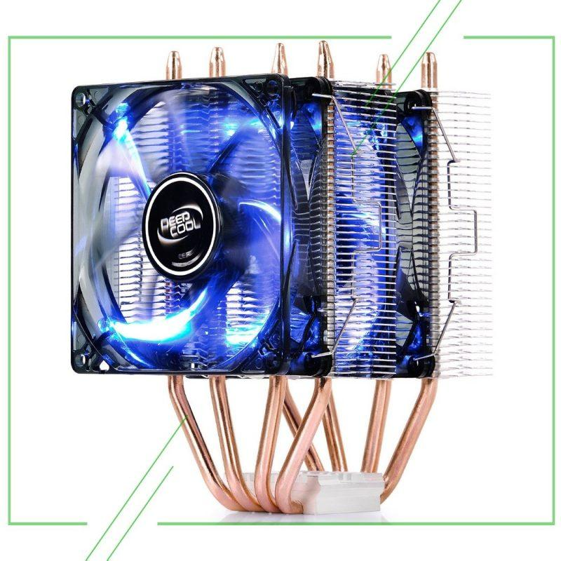 DEEPCOOL Frostwin LED_result