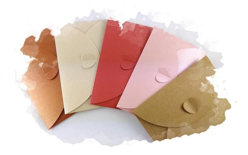 конверт из упаковочной бумаги