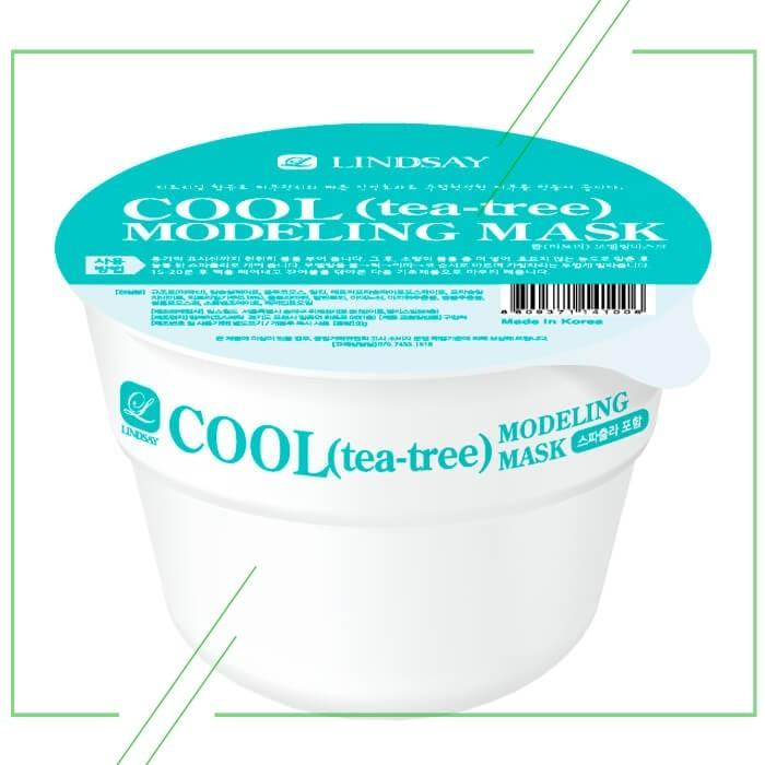 Lindsay Cool (Tea Tree) Modeling Mask Cup Pack_result
