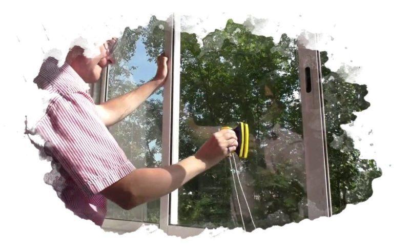 Магнитные щетки для мытья окон