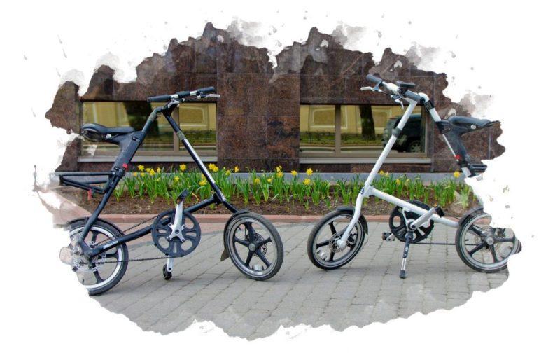 складная конструкция велосипеда