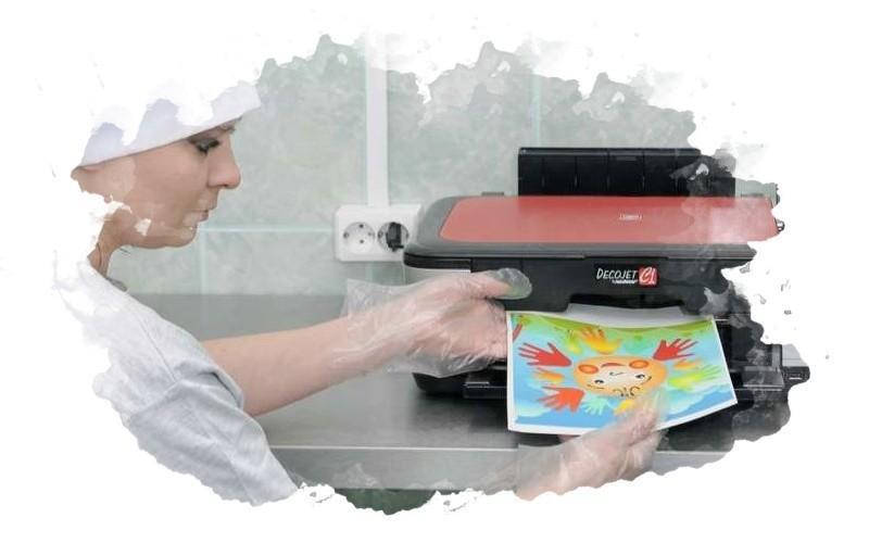 как работать пищевым принтером
