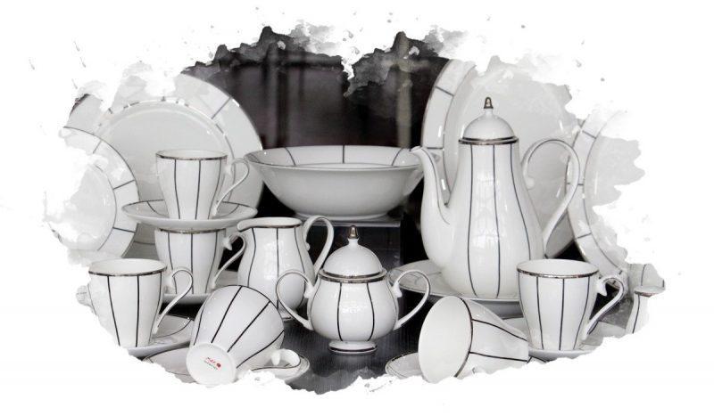 столовый кухонный набор посуды