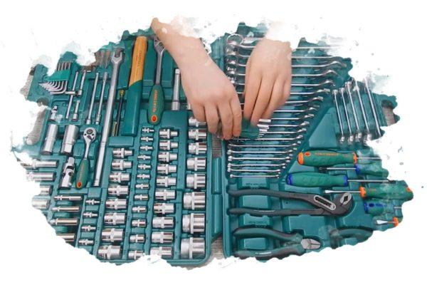 ТОП-7 лучших наборов инструментов в чемодане: универсальный, для автомобиля, отзывы, цена