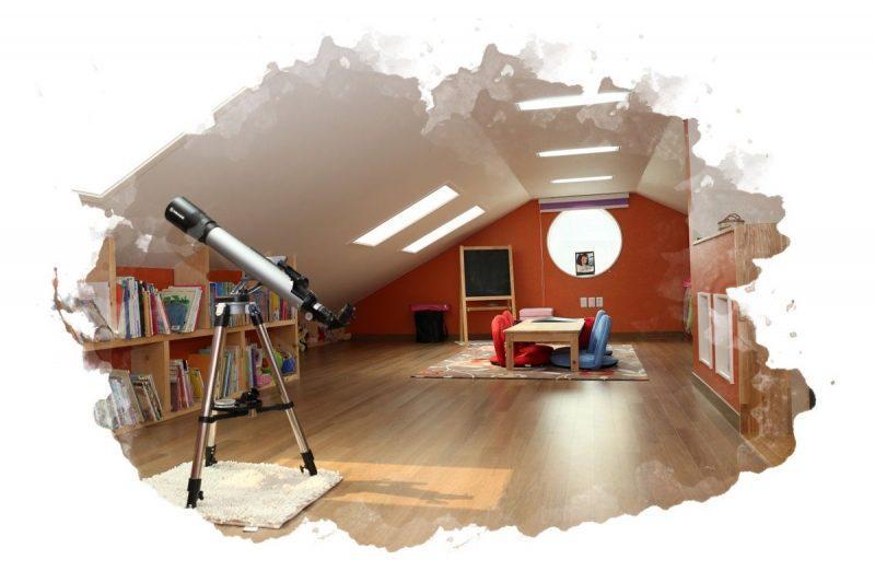 как правильно установить дома телескоп