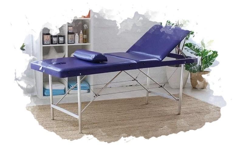 использование массажного стола