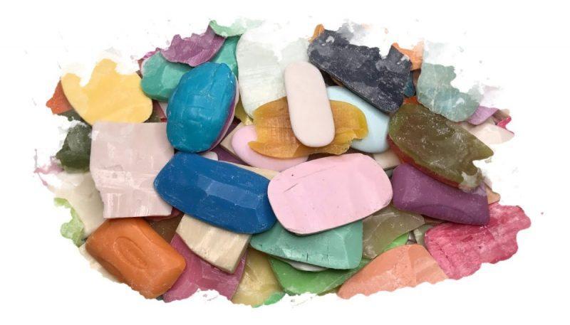 как сделать мыло из остатков мла