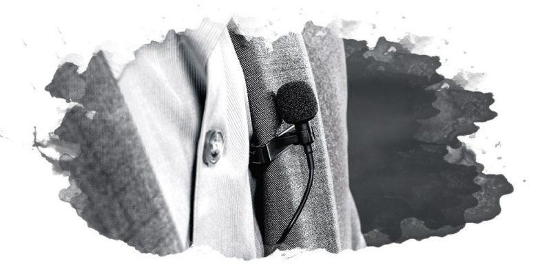 миниатюрный микрофон