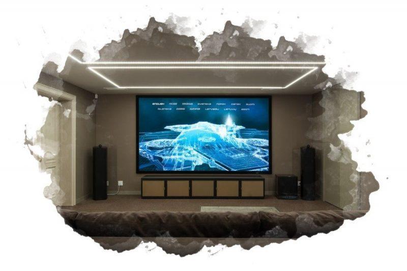 ТОП-7 лучших экранов для проектора: потолочный, настенный, какой выбрать, как повесить