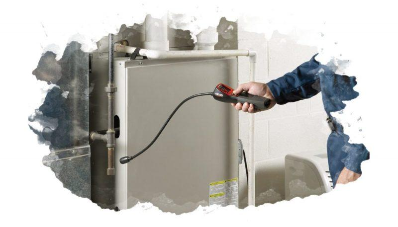 прибор для определения утечки газа