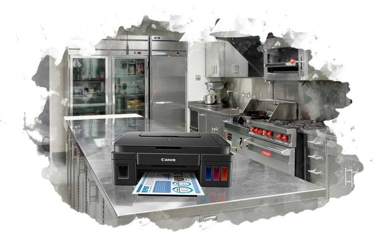 пищевой принтер на кухне