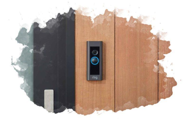 как правильно закрепить на двери видеозвонок