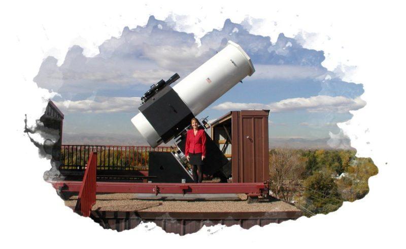 устройство для наблюдения космоса