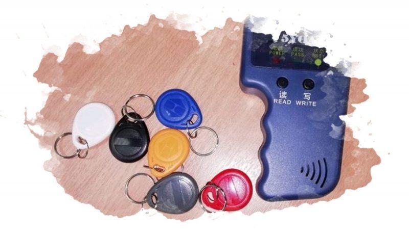универсальное устройство для домофонных ключей