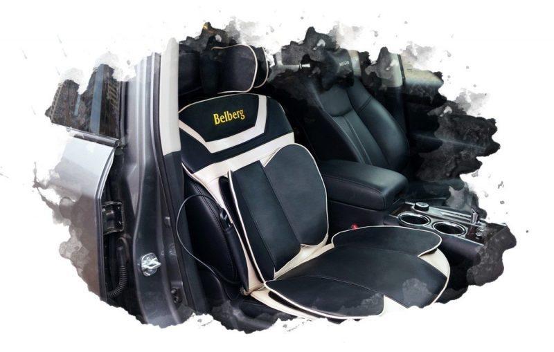 использование массажной накидки в авто
