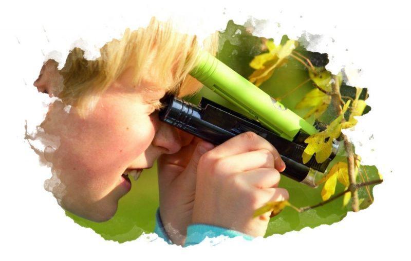 оптический вид микроскопа