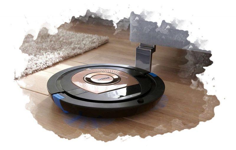 робот-пылесос с влажной уборкй