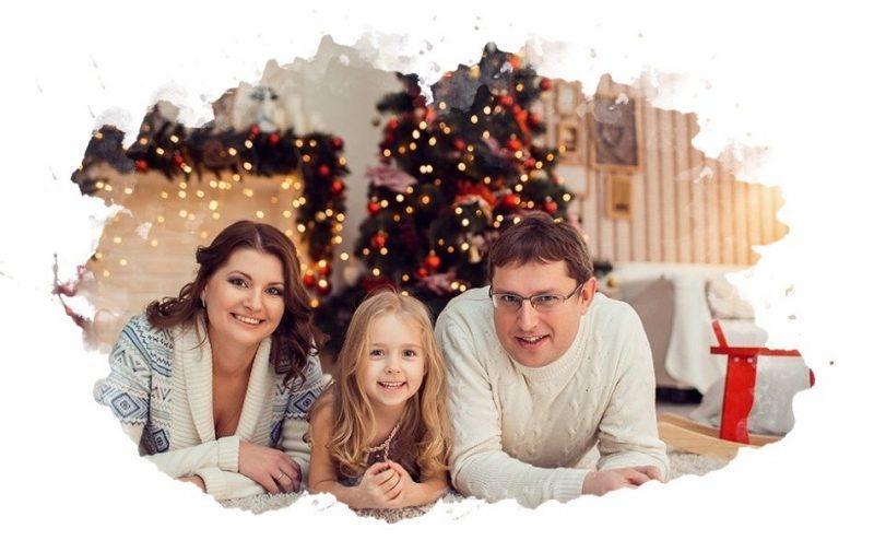 5 крутых идей для новогодней фотосессии