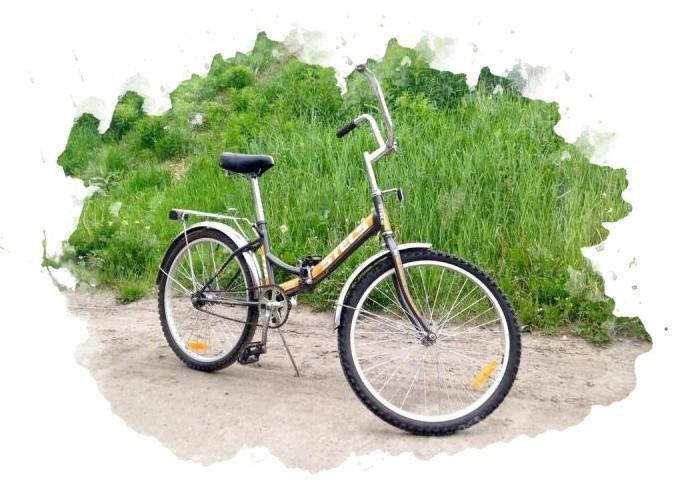 велосипед со складным механизмом
