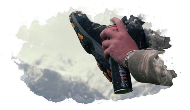 защита обуви от влаги и грязи