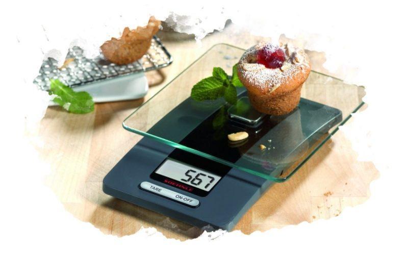 как измерить продукт кухонными весами