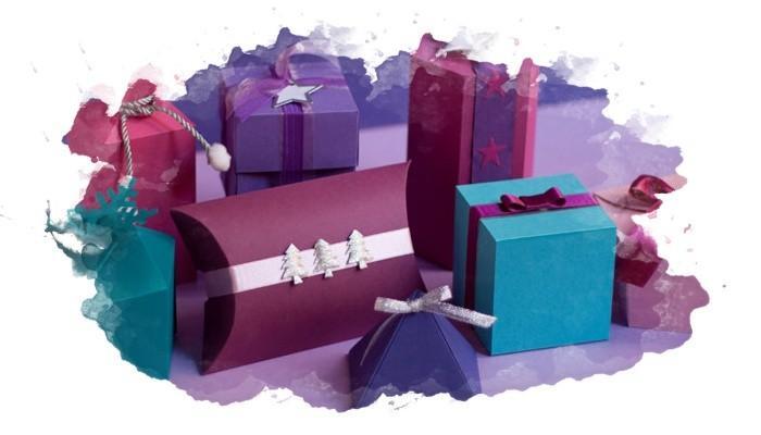 упаковка подарков различной формы