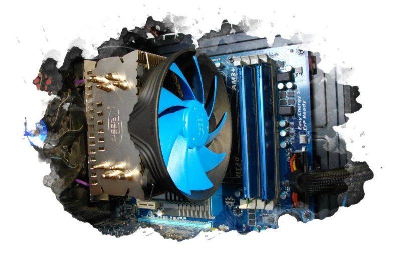 устройство для охлаждения процессора ПК