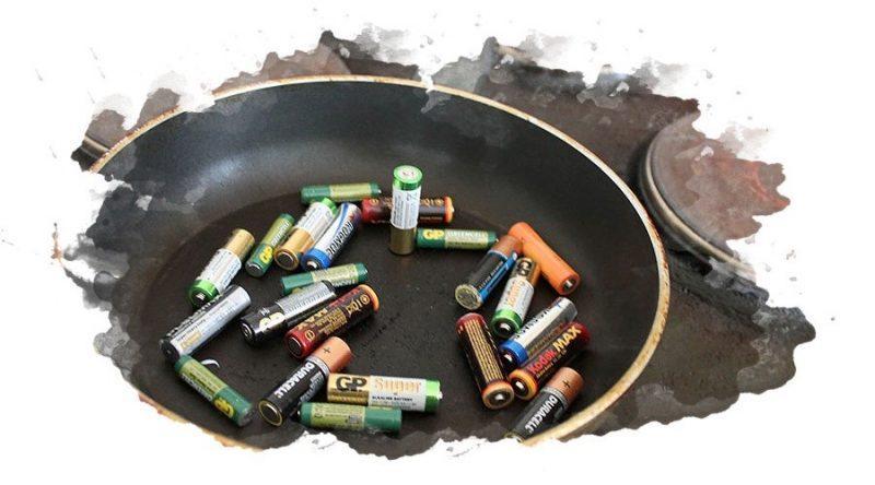 как нагреть севшую батарейку