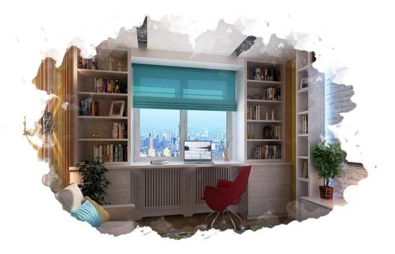 мебель возле окна