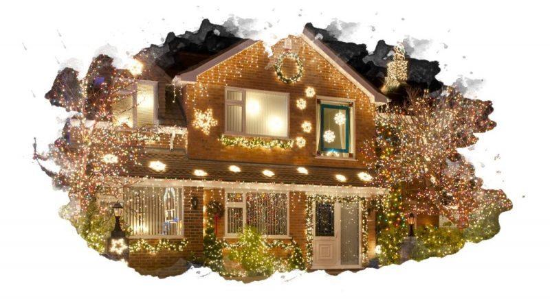 Новогодние светодиодные гирлянды: как выбрать для дома и улицы
