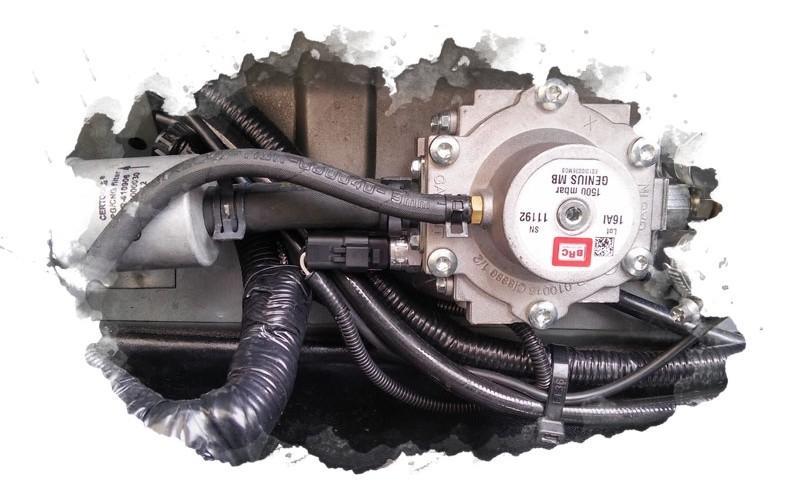газовое оборудование для машины