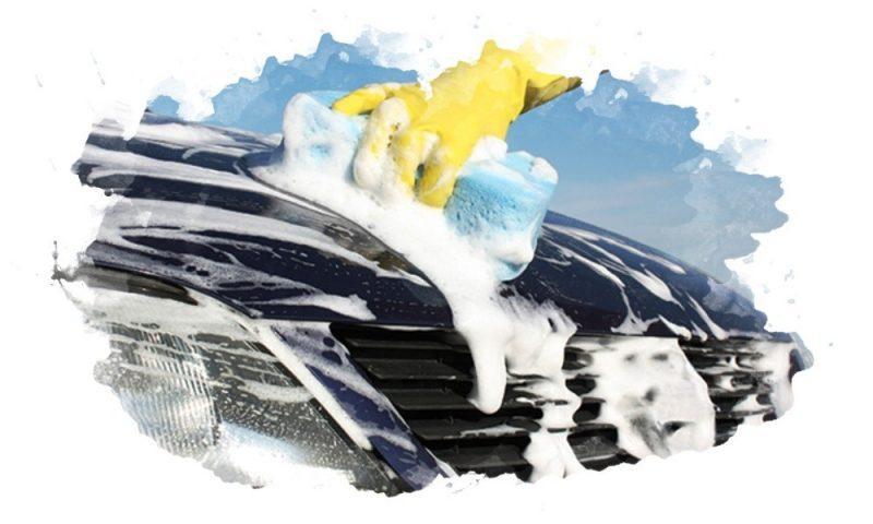 мыть машину автошампунью