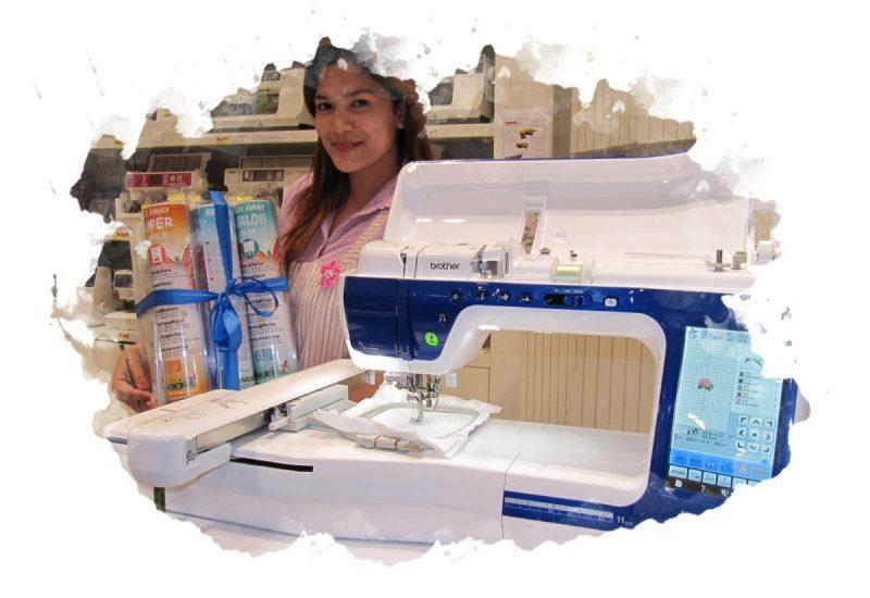 машинка для вышивания