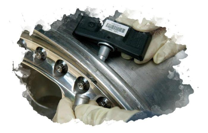 отключение датчика давления в шинах