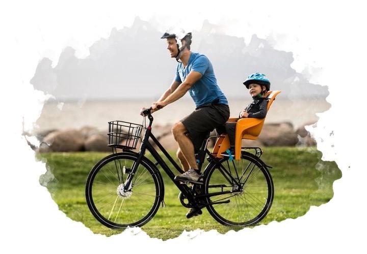 крепление велокресла
