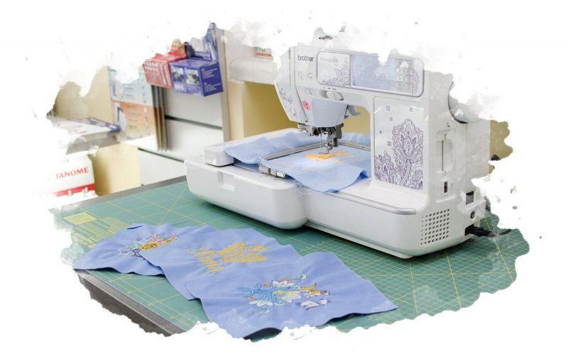 как правильно пользоваться вышивальной машинкой