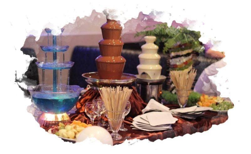 как использовать шоколадный фонтан