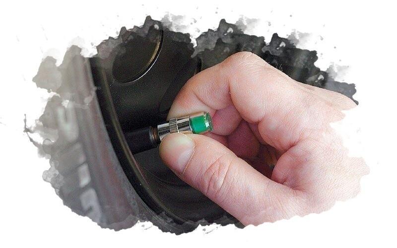 как использовать датчик давления в шинах